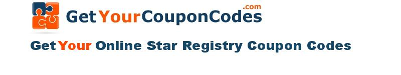 Online Star Registry coupon codes online